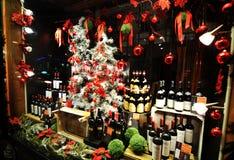 De winkel van de wijn Stock Afbeelding