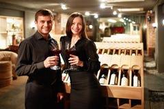De Winkel van de wijn stock afbeeldingen