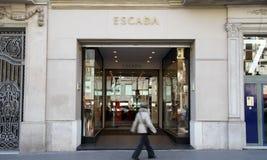 De winkel van Escada Stock Fotografie