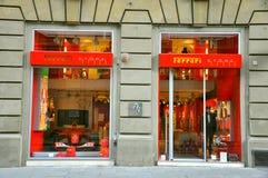 De winkel van Ferrari   Stock Foto's