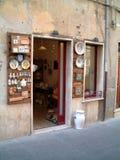 De winkel van het aardewerk Stock Afbeelding