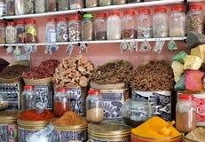 De Winkel van het kruid, Marokko Royalty-vrije Stock Afbeelding