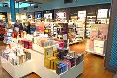 De Winkel van het parfum stock afbeelding