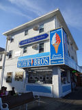 De Winkel van het promenaderoomijs Stock Afbeelding