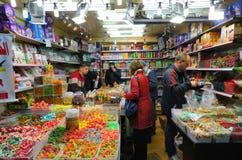 De Winkel van het suikergoed Stock Fotografie