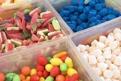De winkel van het suikergoed royalty-vrije stock afbeelding