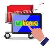 De Winkel van het Web Royalty-vrije Stock Foto's