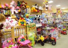 De winkel van kinderen Stock Afbeeldingen