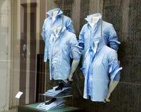 De winkel van kleren Stock Foto's