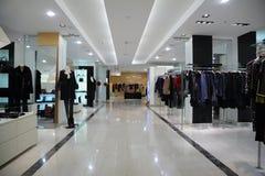 De winkel van kleren Royalty-vrije Stock Afbeeldingen