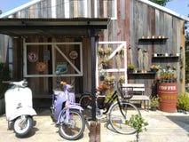 De Winkel van de koffie stock foto's