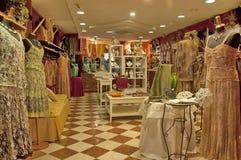 De winkel van Laceclothes in Burano Royalty-vrije Stock Afbeelding