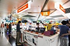 De winkel van Lenovo Stock Foto's