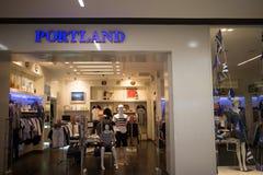 De winkel van Portland in Centraal MAI van Festivalchiang Royalty-vrije Stock Fotografie