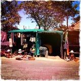 De winkel Zuid-Afrika van de kant van de wegtoerist Stock Foto's
