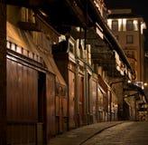 De Winkels van de Juwelen van Florence Ponte Vecchio stock afbeelding