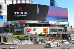 De Winkels van de mirakelmijl bij de Toevlucht en het Casino van Planeethollywood. Stock Afbeeldingen