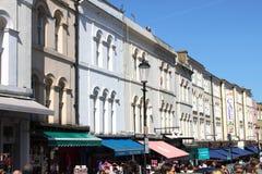 De winkels van de Portobelloweg Stock Afbeeldingen