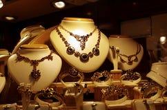 De winkelvenster van juwelen royalty-vrije stock afbeelding
