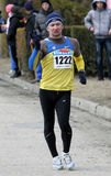 De winnaar van Andriy van Kovenko van de 20.000 meters ras Stock Afbeelding