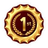 De winnaar van de toekenning. Vector. Royalty-vrije Stock Foto's