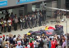 De Winnaar van Formule 1 - Red Bull-het Rennen Royalty-vrije Stock Fotografie
