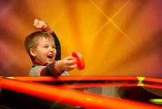 De winnaar van het kind Stock Afbeeldingen