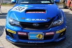 De Winnaar van Subaru Impreza WRX 24H Nürburgring Stock Afbeeldingen