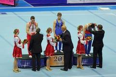 De winnaars Stock Foto's