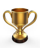 De winnaars vormen 3d tot een kom Royalty-vrije Stock Fotografie