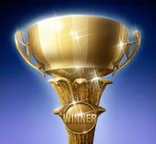 De winnaars vormen tot een kom Royalty-vrije Stock Afbeelding