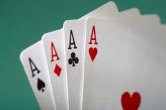 De winnende hand stock afbeelding