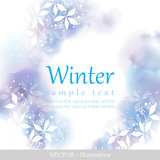 De winter. stock illustratie