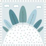 De winter vector illustratie