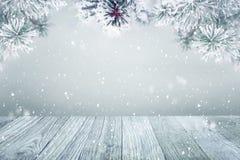 De winter achtergrondsneeuw Royalty-vrije Stock Fotografie