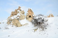 De winter in Anatolië Royalty-vrije Stock Afbeelding