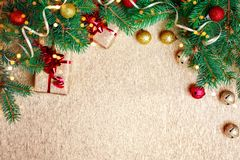 De winter background Gelukkig Nieuwjaar, Vrolijke Kerstmis royalty-vrije stock foto's
