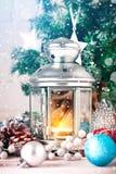 De winter background Nieuwjaar` s speelgoed Gelukkig Nieuwjaar en Vrolijke Kerstmis Royalty-vrije Stock Afbeeldingen