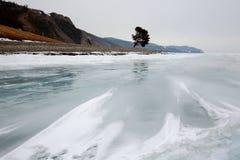 De winter Baikal Royalty-vrije Stock Fotografie