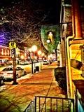 De winter in Baltimore Royalty-vrije Stock Fotografie