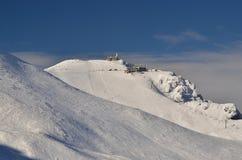 De winter in bergen Royalty-vrije Stock Afbeeldingen