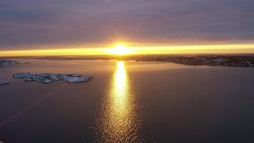 De winter bij het overzees stock videobeelden