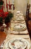 De winter China op Eettafel Royalty-vrije Stock Foto