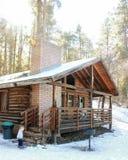 De winter in de bergen Royalty-vrije Stock Foto