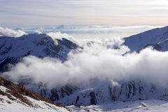 De winter in de bergen van Turkije Stock Afbeelding