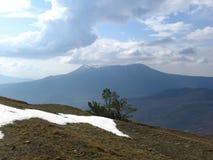 De winter in de Krimbergen Royalty-vrije Stock Fotografie