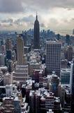 De winter in de Stad van New York Royalty-vrije Stock Fotografie