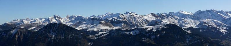 Zwitserse alpen Royalty-vrije Stock Afbeelding