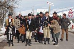 De winter die Carnaval 17 beëindigen stock fotografie