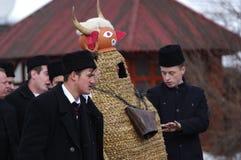 De winter die Carnaval 22 beëindigen royalty-vrije stock afbeeldingen